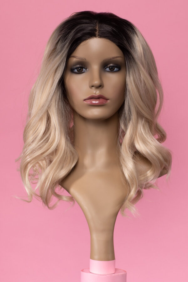 Clarke Lace Ombre Blonde-0