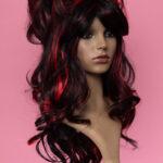 Marie Antoinette Black / Red 1HRed-5269