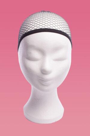 Wigcap zwart-0