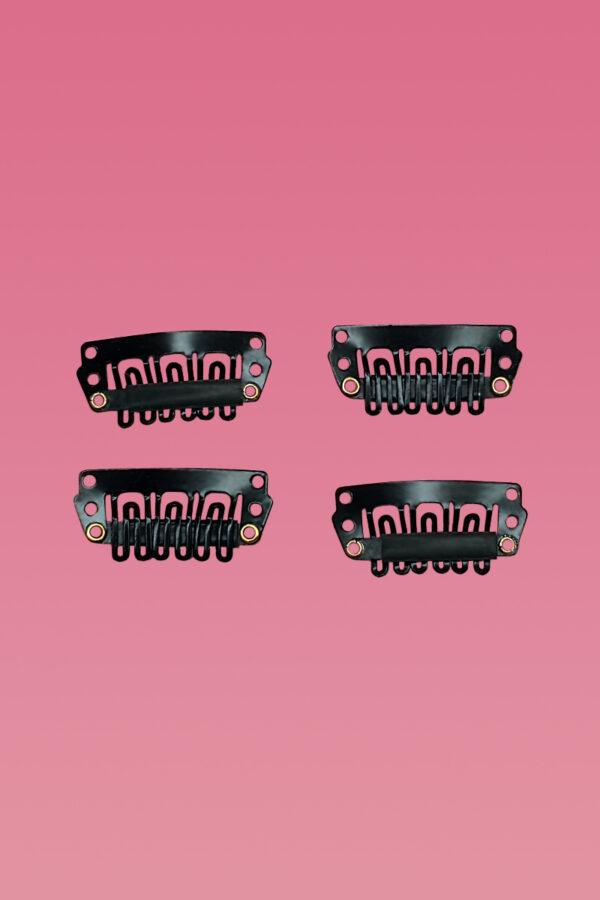 Wig Clips Zwart-0