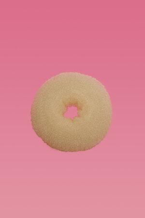 Hair Donut Beige Large-0